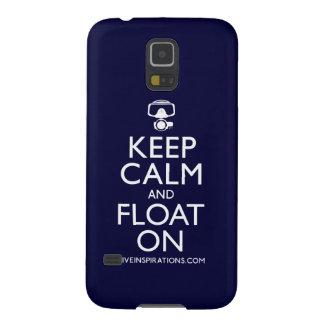 Behalten Sie Ruhe und schwimmen Sie an Samsung Galaxy S5 Hülle