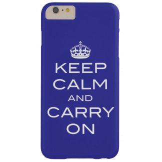 Behalten Sie Ruhe und tragen Sie - jede mögliche Barely There iPhone 6 Plus Hülle