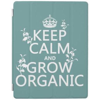 Behalten Sie Ruhe und wachsen Sie Bio (alle iPad Smart Cover