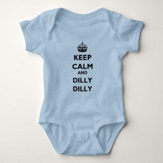 Behalten Sie Ruheund Dillydilly-Baby-Jersey-lt Baby Strampler