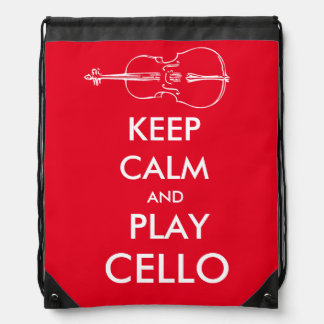 Behalten Sie Ruheund SpielCellotasche Turnbeutel
