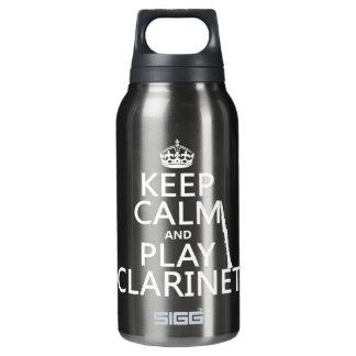 Behalten Sie Ruheund SpielClarinet (irgendeine Isolierte Flasche