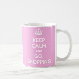 Behalten Sie ruhig und gehen Sie Teehaferl