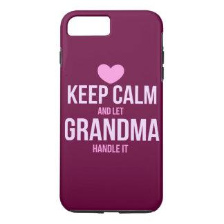 Behalten Sie ruhig und lassen Sie Großmutter es iPhone 8 Plus/7 Plus Hülle