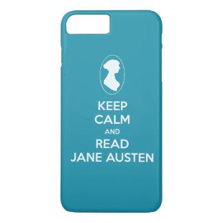 Behalten Sie ruhig und lesen Sie iPhone 7 Plus Hülle