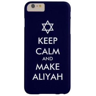Behalten Sie ruhig und machen Sie Aliyah Barely There iPhone 6 Plus Hülle