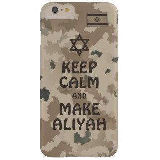 Behalten Sie ruhig und machen Sie Aliyah - Wüste Barely There iPhone 6 Plus Hülle