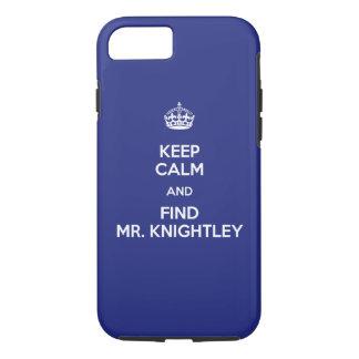 Behalten Sie ruhigen Entdeckungs-Herrn Knightley iPhone 7 Hülle