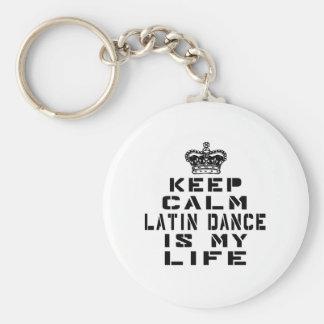 Behalten Sie ruhigen lateinischen Tanz ist mein Schlüsselanhänger