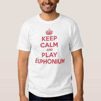 Behalten Sie ruhigen SpielEuphonium Tshirts