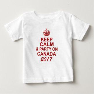 Behalten Sie ruhigen T - Shirt Kanadas 150 für