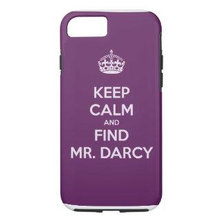 Behalten Sie ruhiger und Entdeckungs-Herr Darcy iPhone 8/7 Hülle