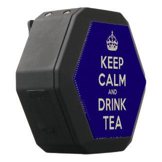 Behalten Sie ruhiger und Getränk-Tee Schwarze Bluetooth Lautsprecher