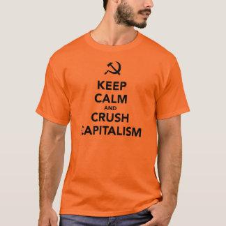 Behalten Sie ruhiger und T-Shirt