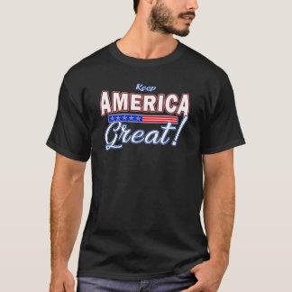 Behalten Sie Trumpf-Slogan-T - Shirt 2020 Amerikas