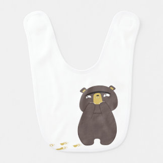 Behalten Sie weg von Bären Lätzchen