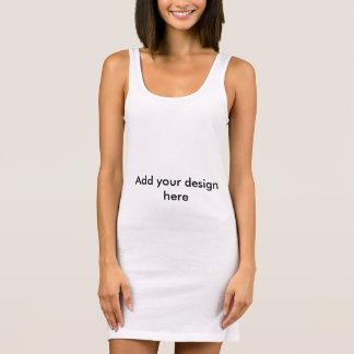 Behälterkleid, damit Sie entwerfen! Ärmelloses Kleid