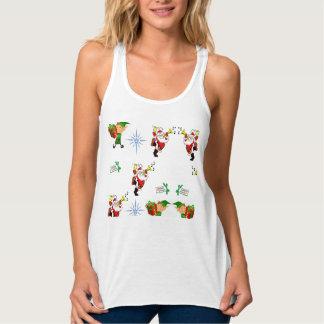 Behälterspitzen-Shirt der Frauen Weihnachts Tank Top