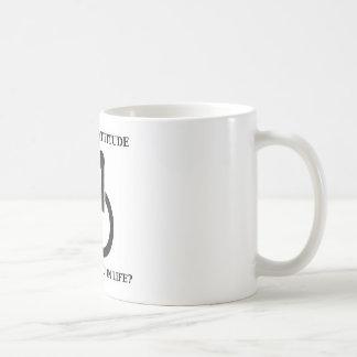 Behindert Ihre Haltung Sie im Leben? Kaffeetasse