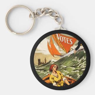 Behindert ohne die Abstimmung Standard Runder Schlüsselanhänger