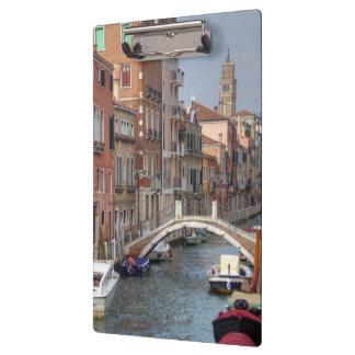 Bei Dorsoduro Venedig Italien Klemmbrett