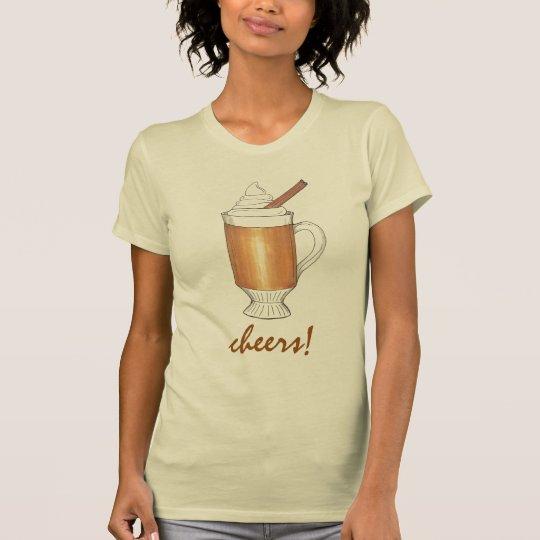 Beifall! Heißes gebuttertes T-Shirt