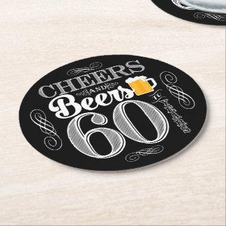 Beifall und Biere zu 60 Jahren Runder Pappuntersetzer