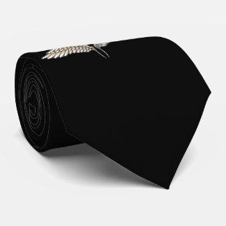 Beige Flügel Krawatte