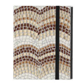 Beige Mosaik iPad 2/3/4 Kasten iPad Hüllen