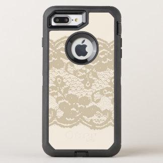 Beige Spitze OtterBox Defender iPhone 8 Plus/7 Plus Hülle