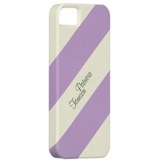 Beige u. violette Farbkombination. Individueller iPhone 5 Schutzhüllen