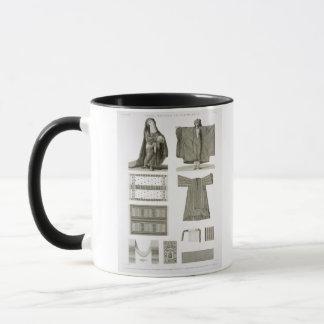 Beispiele der Silk und ägyptischen Kostüme, von Tasse
