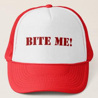 Beißen Sie mich die kundengerechte Kappe -