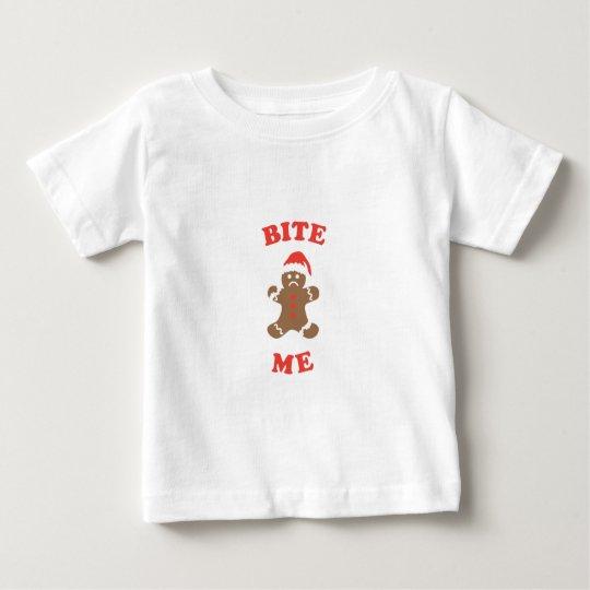 Beißen Sie mich Plätzchen Baby T-shirt