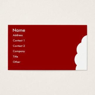 Beißen Sie mich Visitenkarte