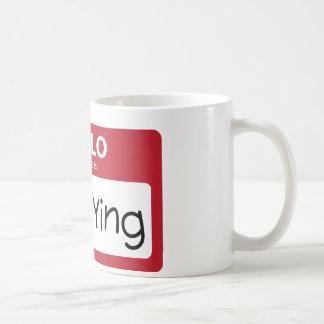 Belästigung 001 kaffeetasse