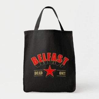 Belfast-Taschen-Tasche Einkaufstasche