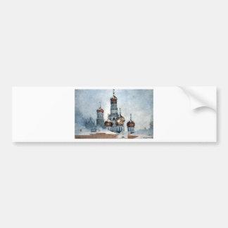 Belfry Iwan das große durch Vasily Surikov Autoaufkleber