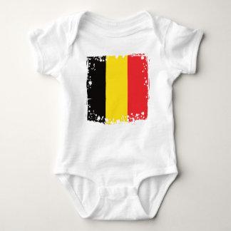 Belgien-Flagge, Belgier färbt Baby-Kleidung Baby Strampler