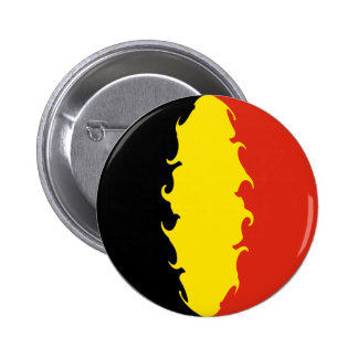 Belgien-Flagge Button