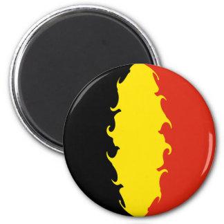 Belgien-Flagge Kühlschrankmagnet