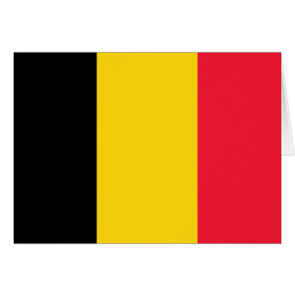 Belgien-Qualitäts-Flagge Karte