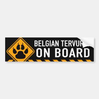 Belgier Tervuren an Bord Autoaufkleber