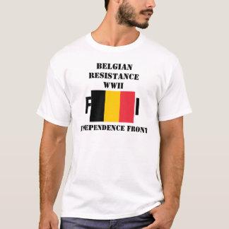 Belgische Widerstand-Unabhängigkeits-Front T-Shirt