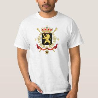 Belgisches Emblem - Wappen von Belgien T-Shirt