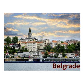 Belgrad Postkarte