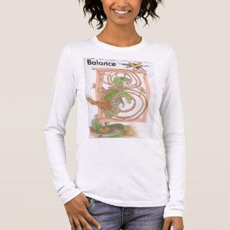Belichtetes b-Shirt Langarm T-Shirt