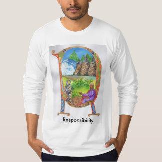 Belichtetes r-Shirt T-Shirt