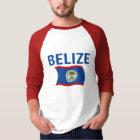Belize-Flagge 1 (gewellt) T-Shirt
