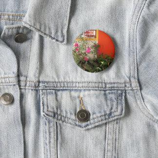 Belizian Blüte Runder Button 5,1 Cm